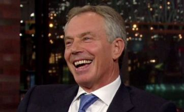 Tony Blair defends George Bush on David Letterman show