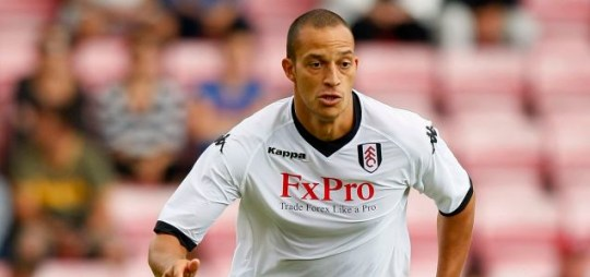 Fulham's Bobby Zamora is keen to get back in the England frame (Getty Images)