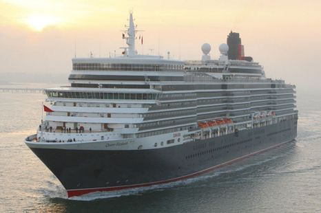 The Queen officially named Cunard's new Queen Elizabeth liner in a ceremony at the vessel's home port of Southampton today
