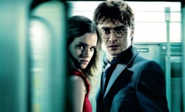 Daniel Radcliffe and Emma Watson 'hunted' in new Harry Potter posters