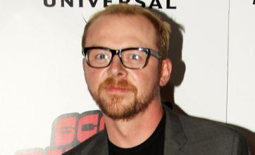 Simon Pegg: Working with Steven Spielberg is really surreal