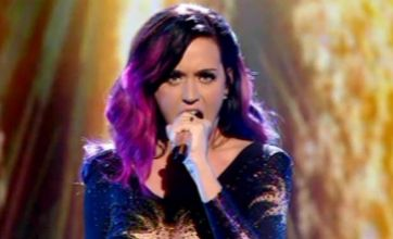 Nervous Katy Perry's vocals slammed by X Factor fans