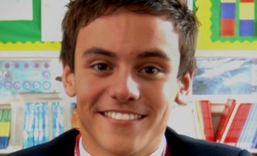Champion Tom Daley back at school three days after Commonwealth wins