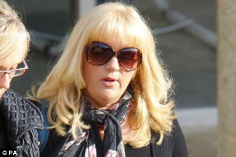 Guilty: Tracy Dawber let boyfriend take pictures as she abused baby PA