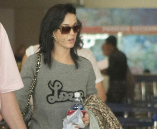 Katy Perry shows of her wedding jewels