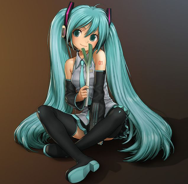 Hatsune Miku has become a pop sensation.