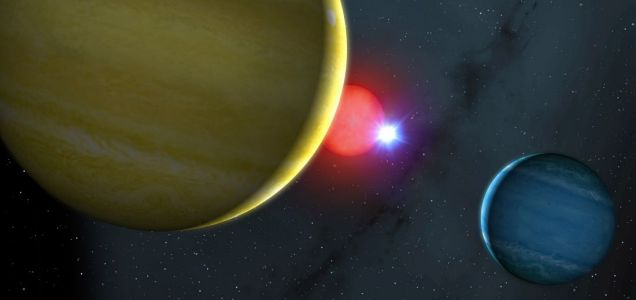 NN Serpentis star system