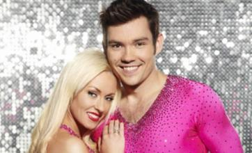 Sam Attwater smitten with Dancing On Ice partner Brianne Delcourt