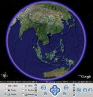 Google Earth speeding fine