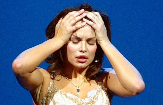 Croatian singer Severina Vuckovic