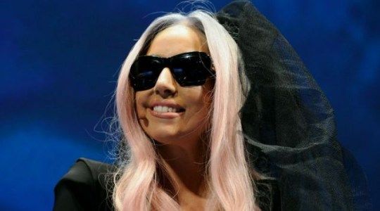 Lady Gaga launches her Polaroid Grey Label range at CES 2011 in Las Vegas  (Getty)
