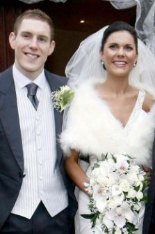 John and Michaela McAreavey on their wedding day at St. Malacheys Church Ballymacilrory