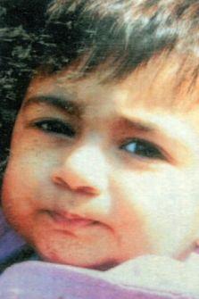 Young victim: Sanam Navsarka