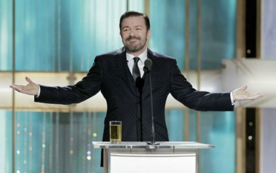 Ricky Gervais hosted the Golden Globes (Photo: Getty Images)