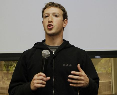 Facebook CEO Mark Zuckerberg: new investments put Facebook's total worth at $50billion