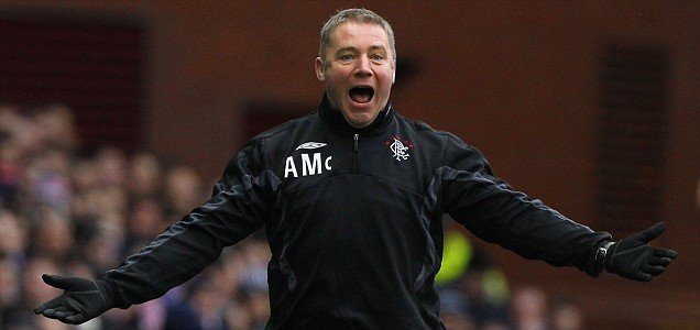 Ally McCoist will take over from Walter Smith as manager of Rangers next season
