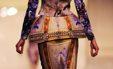 Mary Katrantzou shows off more of her opulent prints at LFW