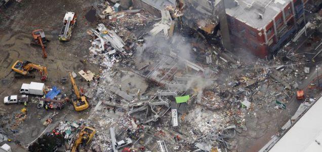 An unprecedented level of destruction has been seen in Christchurch, New Zealand, this week (AP)