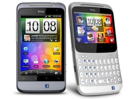 The HTC Salsa and HTC ChaCha will be available for purchase on 17th June 2011 according to Expansys.