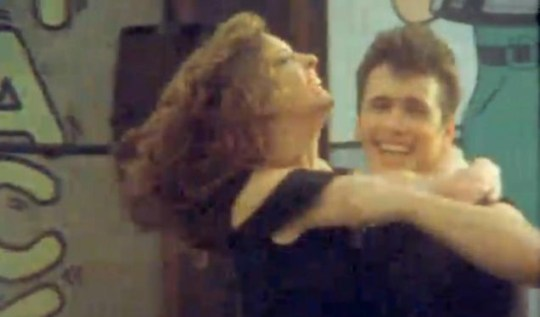 James Franco and Anne Hathaway dress up as Danny and Sandy from Grease (YouTube)