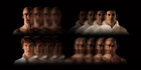 Frankenstein image Benedict Cumberbatch & Jonny Lee Miller National Theatre Frankenstein free pic