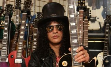 Slash: I would not like to see a Guns N' Roses biopic – actors can't portray musicians well