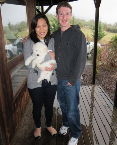 Mark Zuckerberg Facebook dog Beast