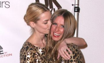 Fashion nightmare for Jamie King and Nicky Hilton wearing identical dresses