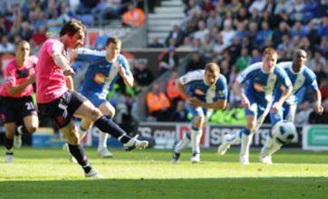 Hugo Rodallega's 'strange action' leaves Wigan in drop zone