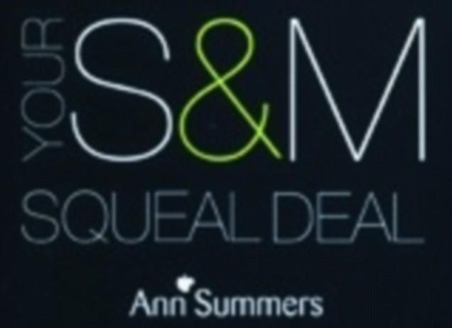 The Ann Summers S&M advert