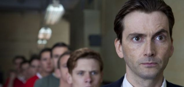 United stars Jack O'Connell and David Tennant as it revisits the Munich air crash, back when Manchester United was known as the Busby Babes
