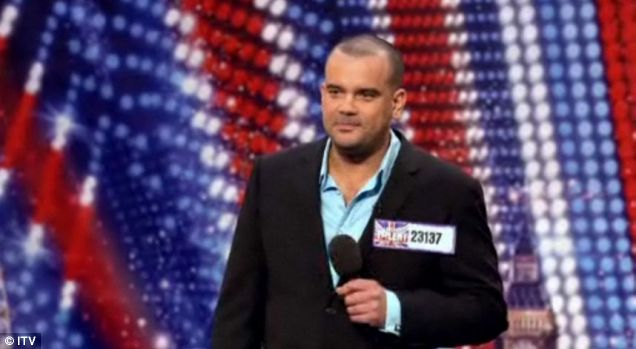 Les Gibson impersonates Ant and Dec in his Britain's Got Talent audition