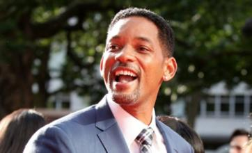 Will Smith joins Andy Warhol for Men in Black 3 shoot