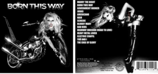 Lady Gaga reveals Born This Way track listing on Twitter