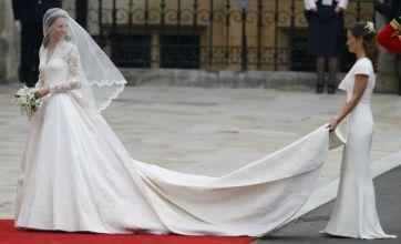 Demand for Pippa Middleton's bottom-flattering dress trounces Kate