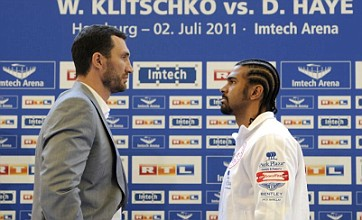 David Haye brands Wladimir Klitschko a fraud and a robot ahead of title fight