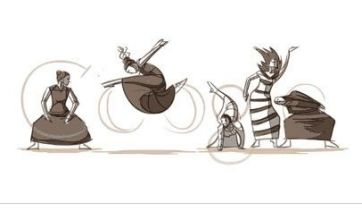 Martha Graham gets animated Google Doodle for her 117th birthday