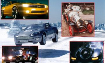 Top five movie cars to take for a spin