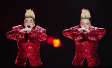 Jedward 'oblivious' to twins' advances at Eurovision party