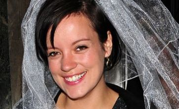 Lily Allen is all smiles on hen do – but she failed to invite Kate Moss