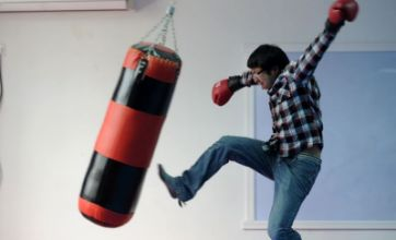 Students at Chinese university invent way to beat (and kick) stress