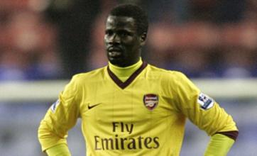 Emmanuel Eboue 'eyed by QPR' as Arsenal look to sell