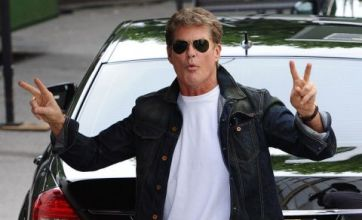 David Hasselhoff twists US X Factor knife into Cheryl Cole