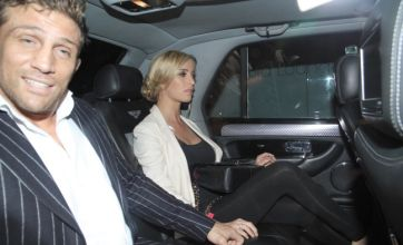 Alex Reid and Chantelle Houghton in a cab: Caption Competition