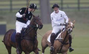 William beats Harry in polo match