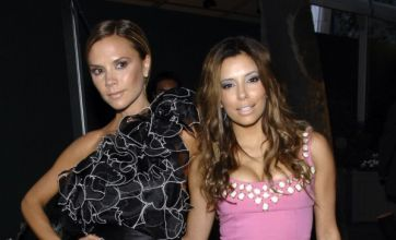 Victoria Beckham denies asking Eva Longoria to be godmother
