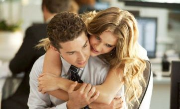 Transformers 3 pic shows Rosie Huntington-Whiteley getting cuddly