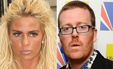 Katie Price dares Frankie Boyle to meet Harvey after controversial 'joke'