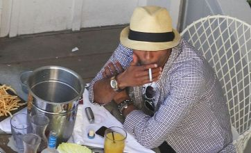 Ashley Cole chills in LA with lads, cigs and booze – but is Cheryl on her way?
