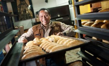 Mexican town shuns burritos and nachos for Cornish pasties